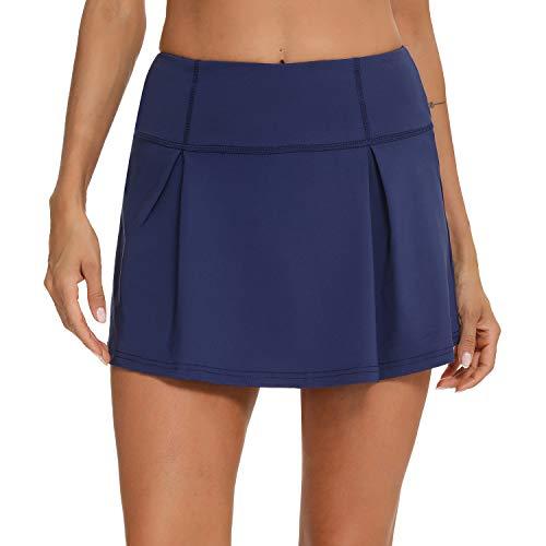 iClosam Falda Plisada Mujer Ligeros Falda Pantalon Mujer Cómodo Falda Tenis para...