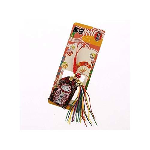 AMULETA JAPONAICA Maneki Neko - El Gato japonés Amuleto de la Suerte