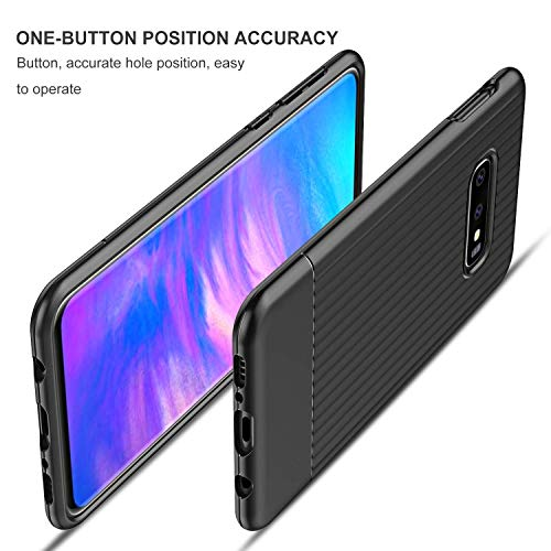 QITAYO Case for Samsung Galaxy S10e case, Slim shockproof Anti-Scratch Phone Case for Samsung Galaxy S10e, Black
