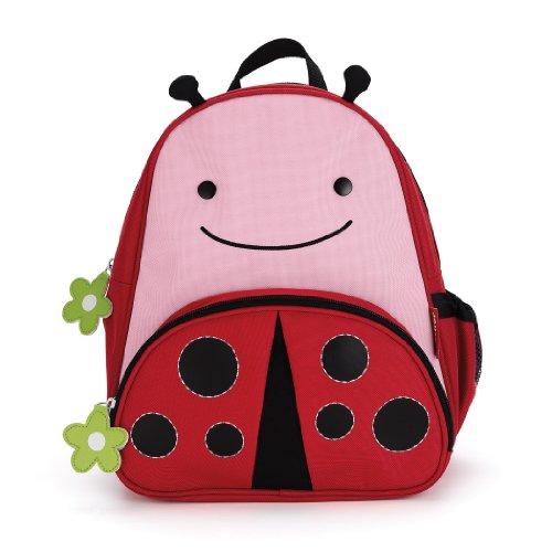 Skip Hop Zoo Pack - Mochila, diseño lady bug, color rosa