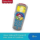 Fisher-Price la Télécommande de Puppy Jouet Bébé pour Apprendre les Nombres, les Couleurs et les Premiers Mots, 6 Mois et...