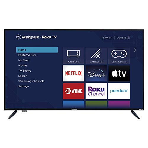 """top rated Westinghouse 50 """"Roku 4K Ultra HD LED Smart TV with HDR 2020"""