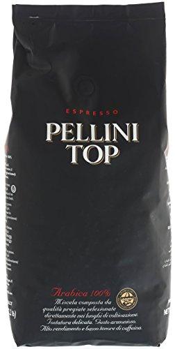 Pellini Caffè Top 100{6ab332f7a8b4d9fd84c5524438ca5de4ed0976ab80c406add0bc598b36443296} Arabica, Bohne, 1er Pack (1 x 1 kg)