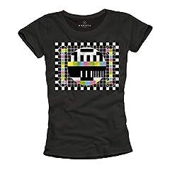 MAKAYA Sheldon Cooper - Camiseta Mujer con la Imagen de Prueba