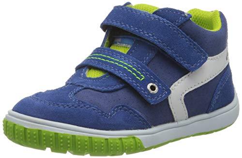 Lurchi Baby-Jungen BRUCY Sneaker, Blau (Cobalt 22), 24 EU