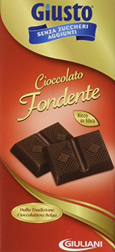 Giusto Cioccolato Fondente senza Zucchero