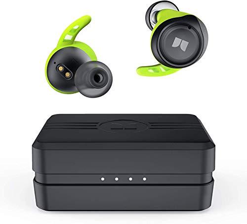 Monster Isport Champion True Wireless Earbuds,Bluetooth 5.0 Headphones with aptX Deep Bass,CVC 8.0...