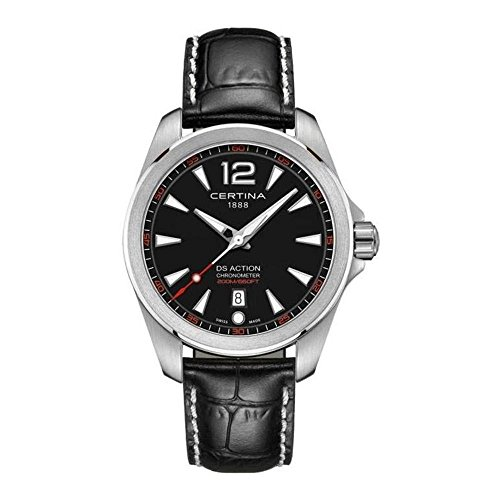 Certina DS Action Black Dial Men's Watch C032.851.16.057.01