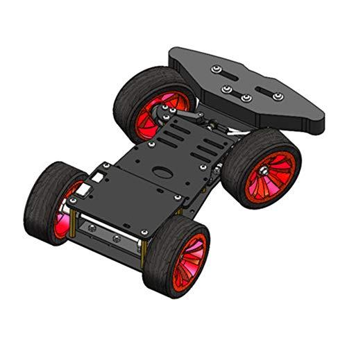 VISLONE 4WD Smart Robot Car Chassis Kit Telecomando Toy Hobby RC Car Chassis Scatola fai da te compatibile con controller PS2