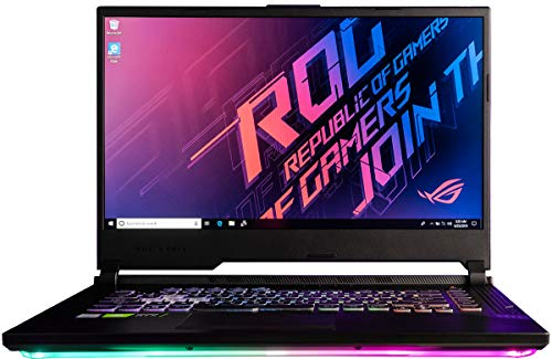 CUK ASUS ROG Strix III G GL531GW Gaming Laptop (Intel i7-9750H, 32GB RAM, 1TB NVMe SSD + 1TB HDD, NVIDIA GeForce RTX 2070 8GB, 15.6' FHD 120Hz, Windows 10 Home) Gamer Notebook Computer