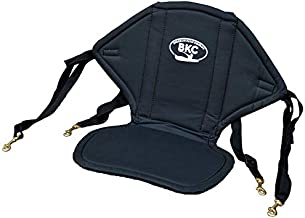 BKC UH-KS222 Universal Sit-On-Top Soft Padded Kayak Seat and Backrest with Water Bottle Pouch for Fishing/Kayaking/ Rafting / Canoeing by Brooklyn Kayak Company