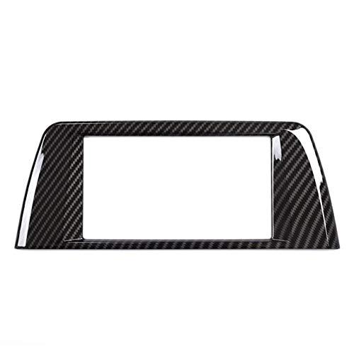 Auto dekorativ Für BMW X1 F48 2016 2017 Auto-Zubehör Carbon-Faser-Center Zentral Navigation Panel Rahmenabdeckung Trim Aufkleber