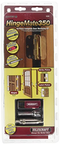 MILESCRAFT Door Mortise Kit