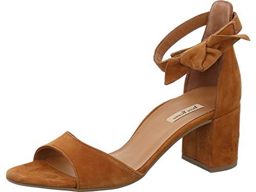 Paul Green 7073 - Sandalias con correa para mujer, color Marrón, talla 35.5 EU