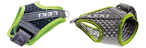 レキ(LEKI) ノルディックウォーキング ポール 専用ストラップ シャークフレームストラップメッシュ MLXL 右手用 イエロー 1300413