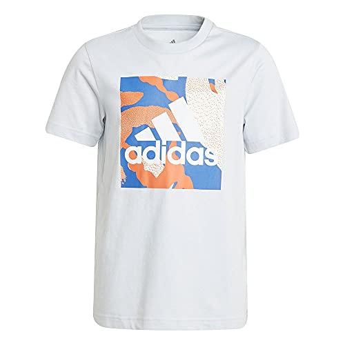 adidas Jungen CAMO Tee B Unterhemd, Azuhal, 16 Años