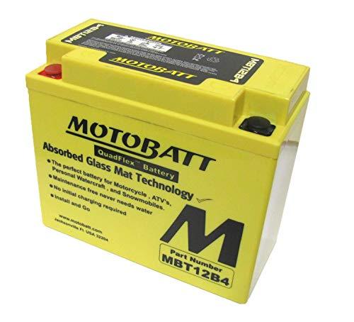 Ducati Monster 620 ie MBT12B4 batteria moto 2002-2004