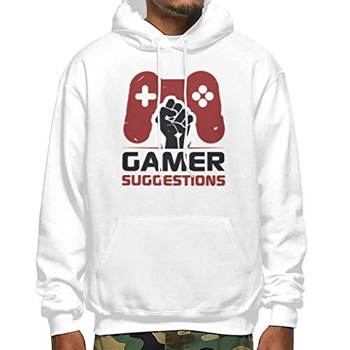 swiffers Gamer Herren & Yonth's Fashion Kordelzug Pocket Pullover Hoodie Sweatshirt XX-Large