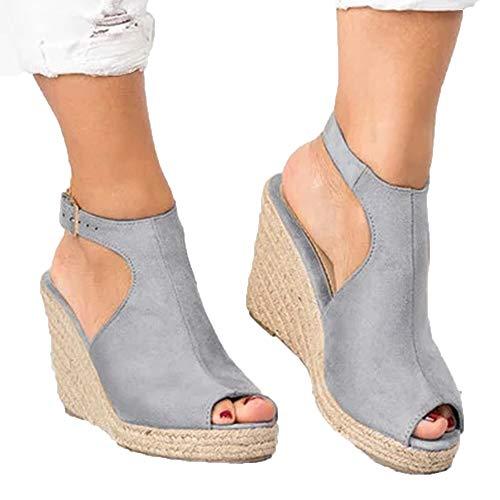 Dames Sandalen met sleehak Hoge hakken Open teen mode zomerschoenen holle sexy sandalen maat 35-43 sandalias