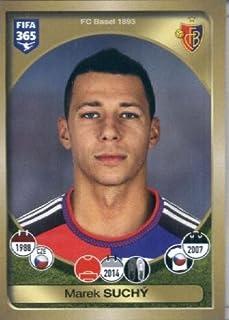 2016-17 Panini FIFA 365 #217 Marek Suchý FC Basel 1893 Soccer Sticker
