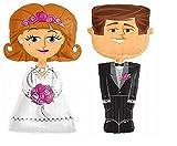 Globos de papel de aluminio, tamaño XXL, 1,27 m, 2 unidades, decoración para bodas, decoración de boda, decoración para el hogar, Mr y Mrs
