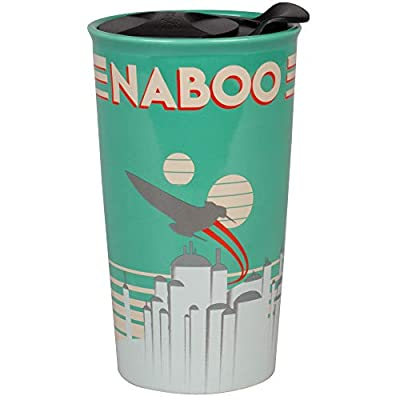 Naboo Star Wars 16 Oz Ceramic Travel Mug