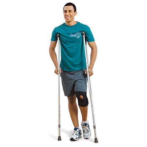 Hugo Mobility 721-785 Hugo Lightweight Adjustable Aluminum Crutches, Medium Adult