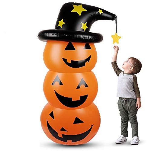 ハロウィン かぼちゃ バルーン ロッキング カボチャ風船 水注ぐ パーティーの装飾 仮装 雰囲気満点 小道具 ...