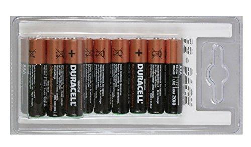 Duracell 12 x AAA Batteries LR3 alcalines 1,5 V, Lot de 12