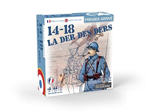 professionnel comparateur Edition Dusserre-14-18 Ders-Jeu de Bataille, 130006679, Première Guerre mondiale choix