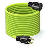 GearIT 30-Amp 50-Feet 250-Volt Generator Extension Cord NEMA L14-30P to L14-30R Generator Power Cord for Manual Transfer Switch, Portable Generators, Power Outage, Hurricane