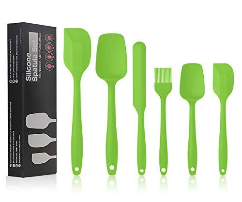 Utensilios De Cocina De Silicona Verde Marca Ousuga