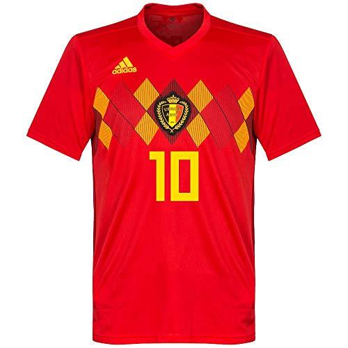 Belgien Home Trikot 2018 2019 + Hazard 10 - XXL