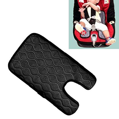 Verwarmde autostoelbekleding sigaret baby-auto-aansteker-stekker-stoelbekleding warm stoelverwarming baby-stoelverwarming pad, afmetingen: 215 x (330 + 130) x8 mm zwart