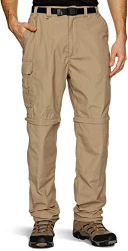 Craghoppers Kiwi Pantalon zippé pour homme, Marron, 52, (Short 29\