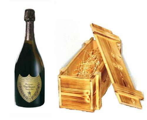 Dom Perignon Vintage 2006 Champagner in Holzkiste geflammt 12,5% 0,75l Fl.