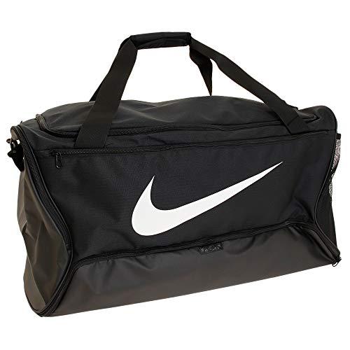 Nike Nike Brasilia Xl Duffel - 9.0, Black/Black/White, Misc