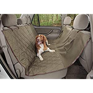 PetSafe Happy Ride Deluxe Car Seat Cover for Dogs – Fits Cars, Trucks and SUVs – Hammock, Bench and Cargo Styles – Multiple Colors