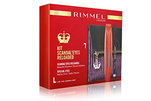 Rimmel ScandalEyes Mascara Clutch Reloaded + Bleistift Special Eyes Black