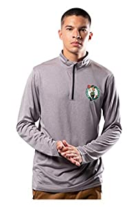 ULTRA GAME NBA APPAREL: Officially Licensed by The NBA (National Basketball Association); Ultra Game NBA features innovative designs with forward thinking graphics and textures COMFORTABLE FIT: Athletic fit, tagless neck and quarter zip closure provi...