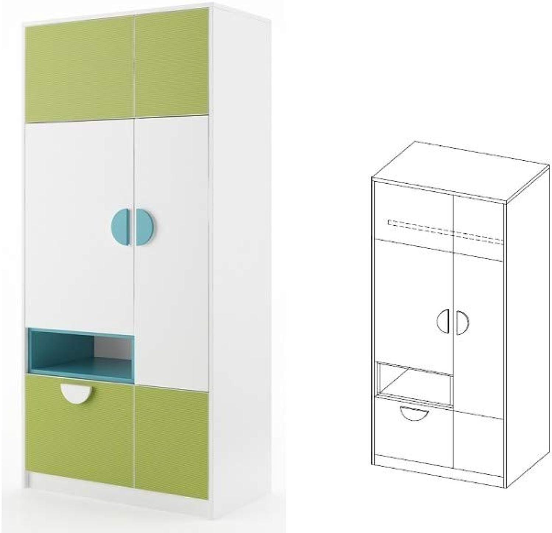 Furniture24_eu Kleiderschrank Schrank PIK POK - Ausverkauf