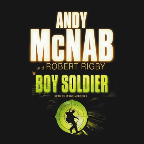 Boy Soldier audiobook cover art
