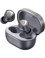 SOUNDPEATS Sonic Bluetooth 5.2 trådlösa hörlurar In-Ear trådlösa hörlurar djup bas stereo ljud True Wireless spegling hörlurar 35 timmar speltid med typ-C-laddning