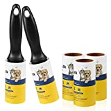 HONGFENGDZ Lint Roller Pet Hair Remover - Extra Sticky Lint Tape Rollers for Clothes Dog Cat Hair Fur - 5 Pack
