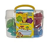 Townleygirl Bath Time Set with Moldable Soaps, Accessories, and Carry Case
