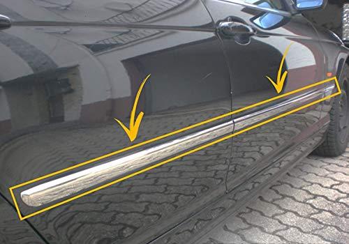 Protector de molduras para puerta lateral cromado, 6 unidades, para BMW Serie 3 E46 SALOON/HB 1998-2005