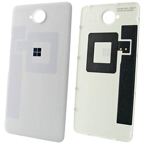 Microsoft Lumia 650& 650Dual SIM batteria originale copribatteria bianco della cover copribatteria flap