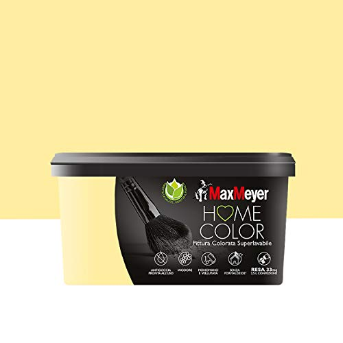 MaxMeyer 165313F500034 Buntfarbe, superwaschbar, Avocado, 2,5 Liter