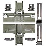 UPGRADED New Polymer Material W10350375 Dishwasher Top Rack Adjuster & W10195839 Rack Adjuster & W10195840...