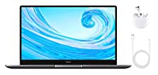 HUAWEI MateBook D 15 Zoll Laptop, FullView 1080p Full HD Ultrabook, 256 GB PCIe SSD, 8GB RAM, AMD Ryzen 5 3500U, Fingerabdrucksensor, versteckbare Kamera, Windows 10 Home ? Grau + Freebuds 3 © Amazon